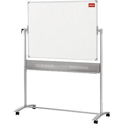 Nobo magnetisch bord: Mobiel Kantelbord Magnetisch Emaille 1500x1200mm - Wit