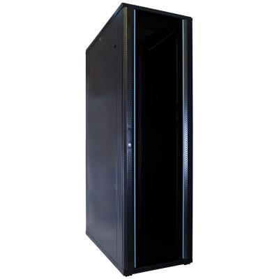DS-IT 42U serverkast met glazen deur 600x1200x2000mm (BxDxH) Rack
