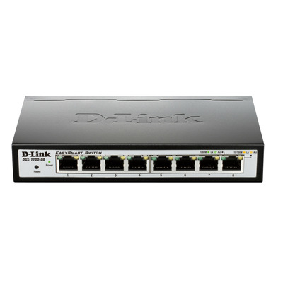 D-Link DGS-1100-08 Switch - Zwart