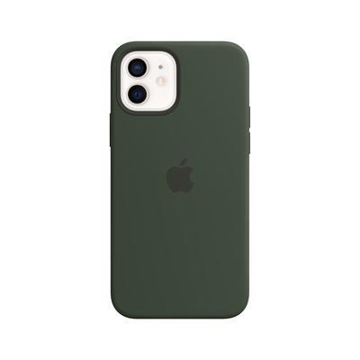 Apple Siliconenhoesje met MagSafe voor iPhone 12 | 12 Pro - Cyprusgroen Mobile phone case