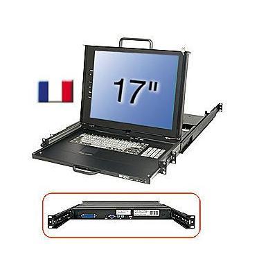 Lindy 21614 Rack console - Zwart