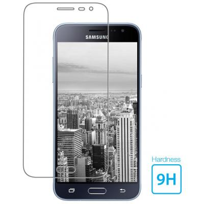 Mobiparts Regular Tempered Glass Samsung Galaxy J3 (2016) Screen protector - Transparant