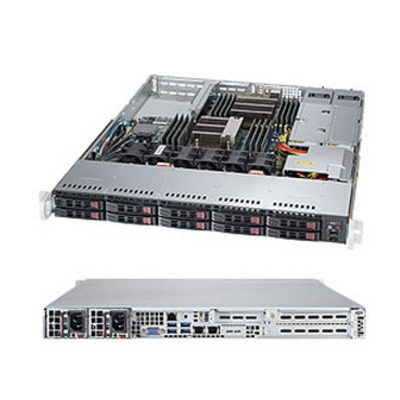 Supermicro SuperServer 1028R-WTRT Server barebone - Zwart