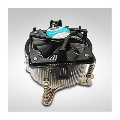 Inter-Tech P-785 Hardware koeling - Aluminium, Zwart
