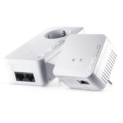 Devolo dLAN 550 WiFi Starter Kit Powerline adapter - Wit