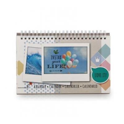 Fujifilm kalander: Instax WIDE Calendar - Multi kleuren