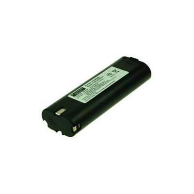 2-Power : NiMH, 7.2V, 3000mAh, 400g - Zwart