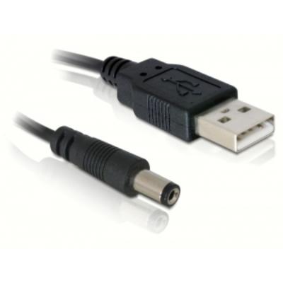 DeLOCK Cable USB Power USB kabel - Zwart