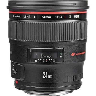 Canon camera lens: EF 24mm f/1.4L II USM - Zwart