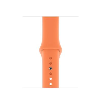 Apple 40mm Papaya Sport Band - S/M & M/L Horloge-band - Oranje