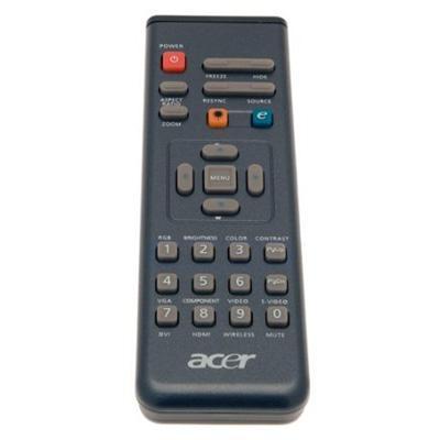Acer afstandsbediening: Remote Control IR w/Laser - Zwart