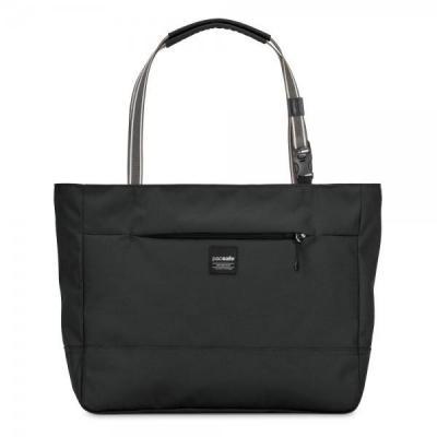 Pacsafe vrouwen-handtas: Slingsafe LX250 - Zwart
