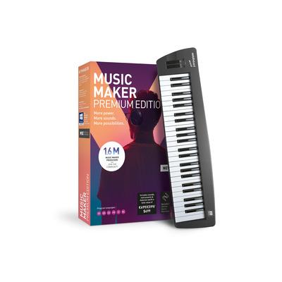 Magix , Music Maker Control Edition (incl. keyboard) Audio software