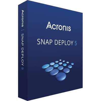 Acronis Snap Deploy 5 Software licentie