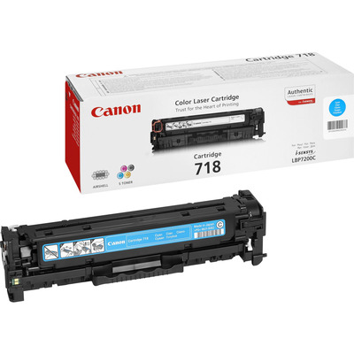 Canon cartridge: CRG 718 C - Cyaan