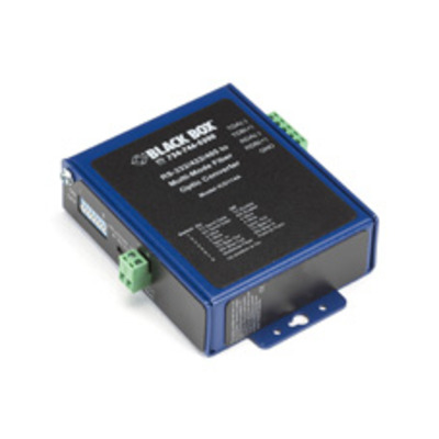 Black Box ICD114A Seriele converter/repeator/isolator - Blauw