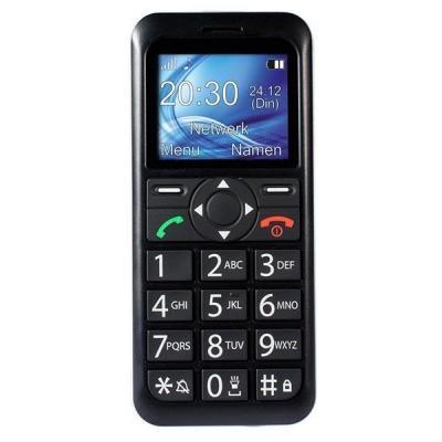 Fysic mobiele telefoon: Big Button Comfort GSM, kleurendisplay, Dual Band 900/1800MHz, SMS, Geschikt voor .....