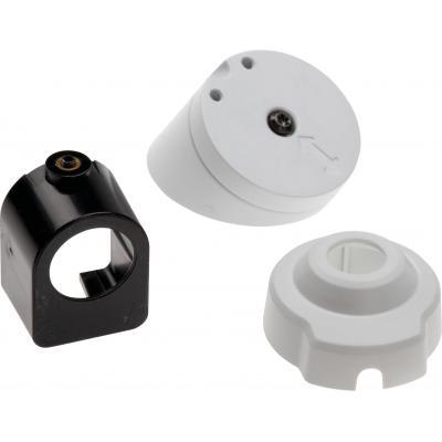 Axis beveiligingscamera bevestiging & behuizing: Mounting Kit, 5 pcs. - Zwart, Wit