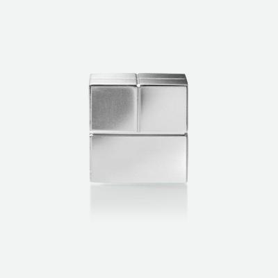 "Sigel magnetisch bord: SuperDym-magneten C20 ""Super-Strong"", cube-design, zilver, 20x20x20 mm, 2 stuks"