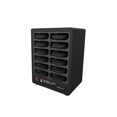 Xtorm Charge 'n Go 12 Portable device management carts & cabinet - Zwart