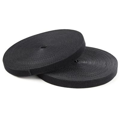 StarTech.com Klittenband 7,5 m rol zwart Kabelbinder
