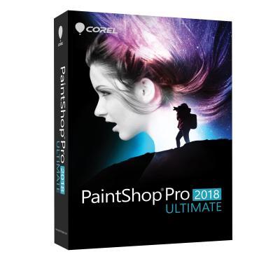 Corel grafische software: PaintShop Pro 2018 Ultimate - Multi Language