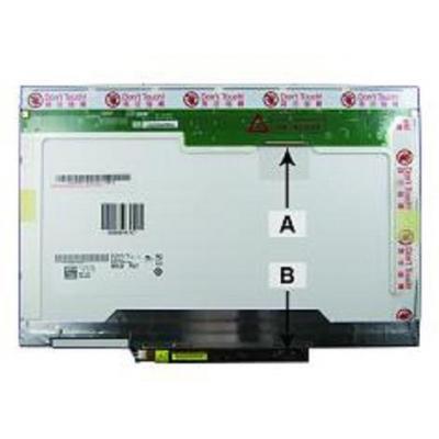2-power notebook reserve-onderdeel: 2P-TK033 - Wit
