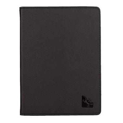 Gecko e-book reader case: Protection cover deluxe f / Kobo Aura H2O, Leatherette, Black, 160g - Zwart