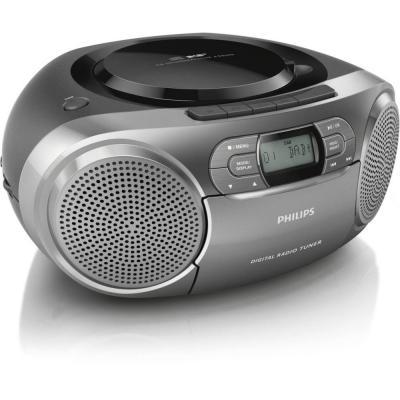 Philips CD-radio: CD-soundmachine AZB600/12 - Grijs
