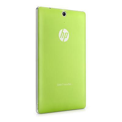 Hp tablet case: Groen batterijdeksel voor Slate 7 VoiceTab