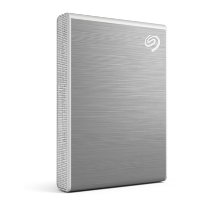 Seagate One Touch 500GB, USB 3.1 Type-C, Silver - Zilver