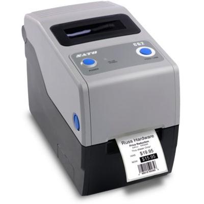 SATO CG212TT Labelprinter - Zwart, Grijs
