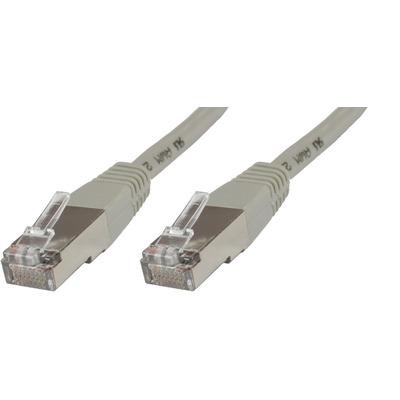 Microconnect S/FTP CAT6 7.5m Grey PVC Netwerkkabel - Grijs