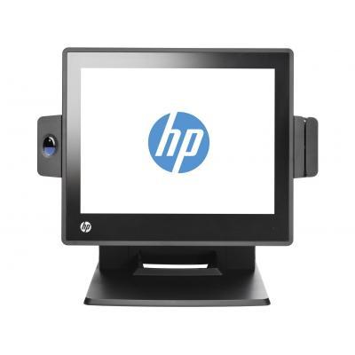 Hp POS terminal: RP7 Retail System Model 7800 - Zwart
