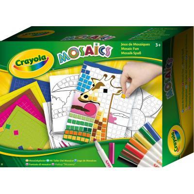 Crayola : knutselpakket - Mozaïeken - Multi kleuren