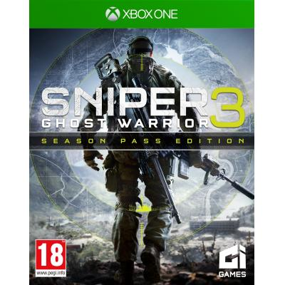 City interactive game: Sniper Ghost Warrior 3 (Season Pass Edition)  Xbox One