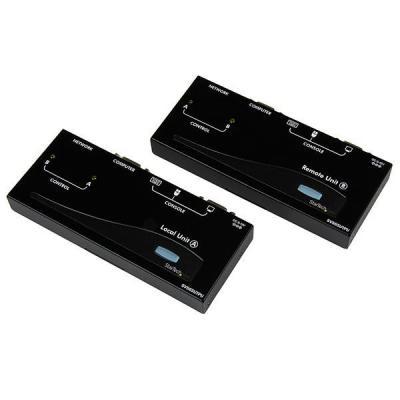 Startech.com KVM switch: USB/VGA Cat5 UTP KVM Verlengsysteem - Zwart
