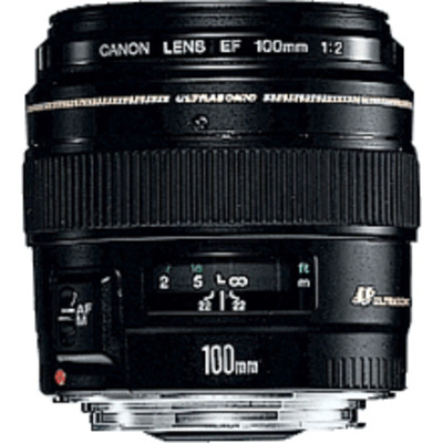 Canon EF 100mm f/2.0 USM Camera lens - Zwart