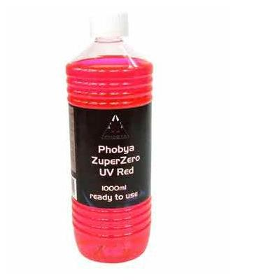 Phobya cooling accessoire: ZuperZero UV Red 1000ml - Rood