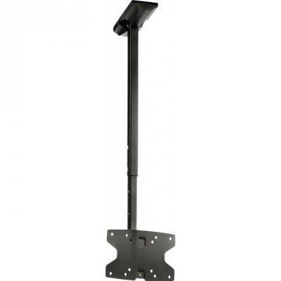 "Valueline flat panel plafond steun: VLM-MC10 - 26-42"" (66-107 cm), max. 20kg - Zwart"