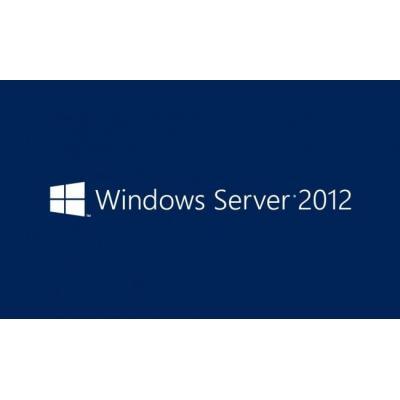 Microsoft Besturingssysteem: Windows Server 2012, WIN, DCAL, 1pk, 5u, DSP, OEI, ENG
