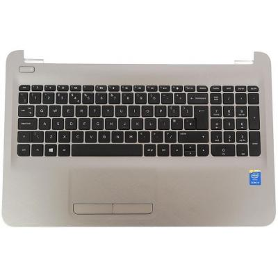 HP Top Cover & Keyboard (International) notebook reserve-onderdeel - Zwart, Grijs