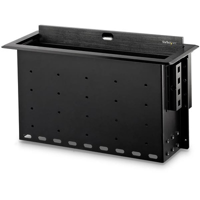 StarTech.com Dual-Module Conference Table Connectivity Box - For Adding Power / Charging / AV / Laptop .....