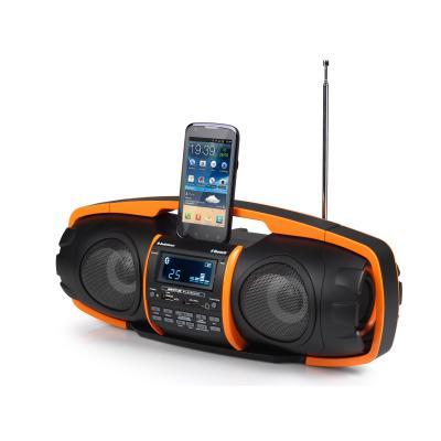 Audiosonic home stereo set: Beatblaster - Zwart, Oranje