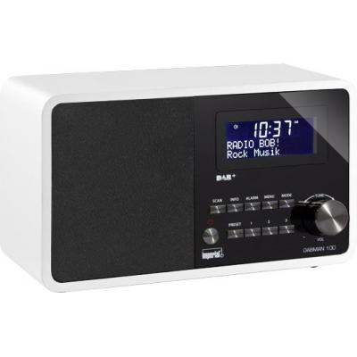 Digitalbox radio: DABMAN 100 - Wit
