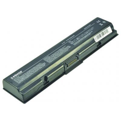 2-Power 10.8v 5200mAh 56Wh Li-Ion Laptop Battery Notebook reserve-onderdeel - Zwart