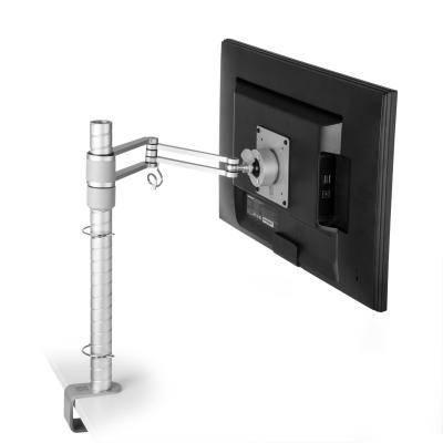 R-go tools monitorarm: Zepher 3 ECO Monitorarm, verstelbaar, zilver