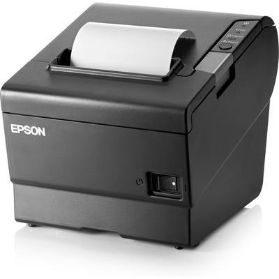 HP Epson TM88VI Serial Ethernet USB Printer Pos bonprinter - Zwart