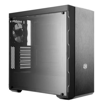 Cooler Master MasterBox MB600L Behuizing - Zwart,Metallic