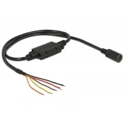 Navilock Connection Cable, 1 x MD6 female serial, 1 x 5 x open wires, TTL (5 V), 52 cm
